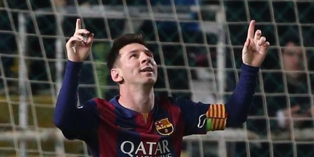 Ligue des champions: Messi bat le record de Raul - La Libre