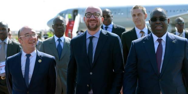 Michel et Demotte côte à côte au Sommet de la Francophonie - La Libre