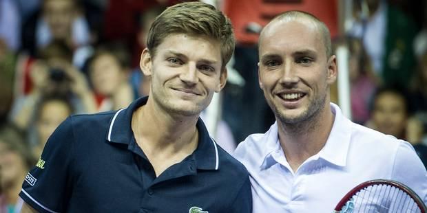 Belgian Tennis Trophy: David Goffin vainqueur facile - La Libre