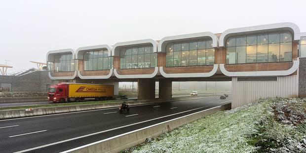 Voici l'aire d'autoroute du futur - La Libre