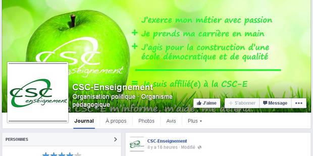 La lettre de la CSC-Enseignement qui scandalise - La Libre