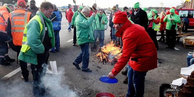 Grève nationale de lundi: la situation dans votre région - La Libre