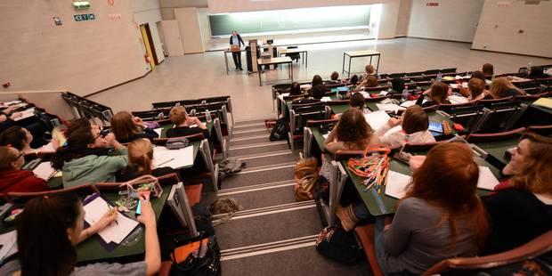 Des examens d'entrée pour toutes les sections - La Libre