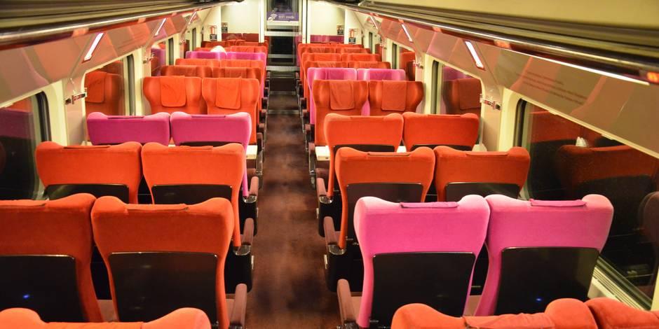 Bienvenue à bord du train fantôme Bruxelles-Ostende - La Libre