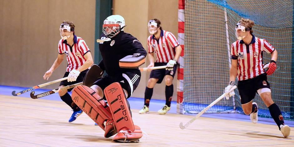 Hockey en salle : fin du premier round dimanche - La Libre