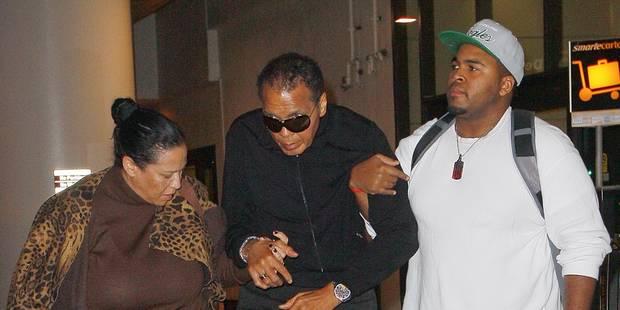 Mohamed Ali hospitalisé - La Libre