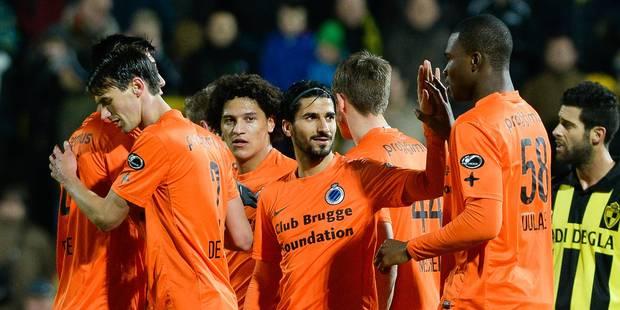 Jeu, set et match pour les Brugeois au Lierse (0-6) - La Libre