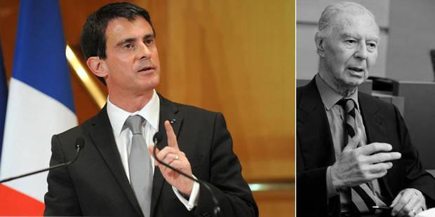 """Décès de Leo Tindemans: le Premier ministre français Manuel Valls rend hommage à """"un grand Européen"""" - La Libre"""