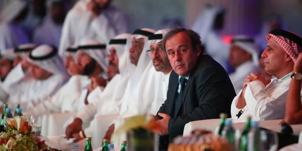 "Platini défend sa proposition de ""carton blanc"" - La Libre"