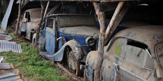 France: un trésor automobile ignoré pendant 50 ans (photos) - La Libre