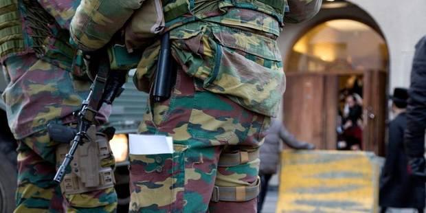 Action anti-terroriste: 150 militaires déployés à Bruxelles et Anvers - La Libre
