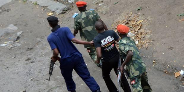 RDC: la police intervient à Kinshasa, coups de feu à l'université - La Libre