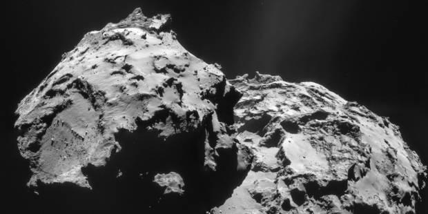 La sonde Rosetta lève un peu plus le voile sur la comète Tchouri - La Libre