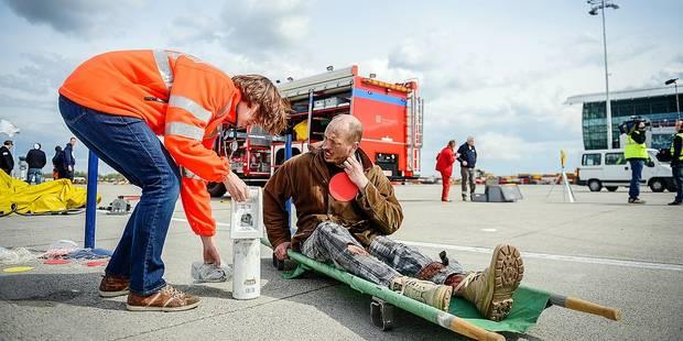 "13 ""crash alarms"" en 2014 à Brussels Airport - La Libre"