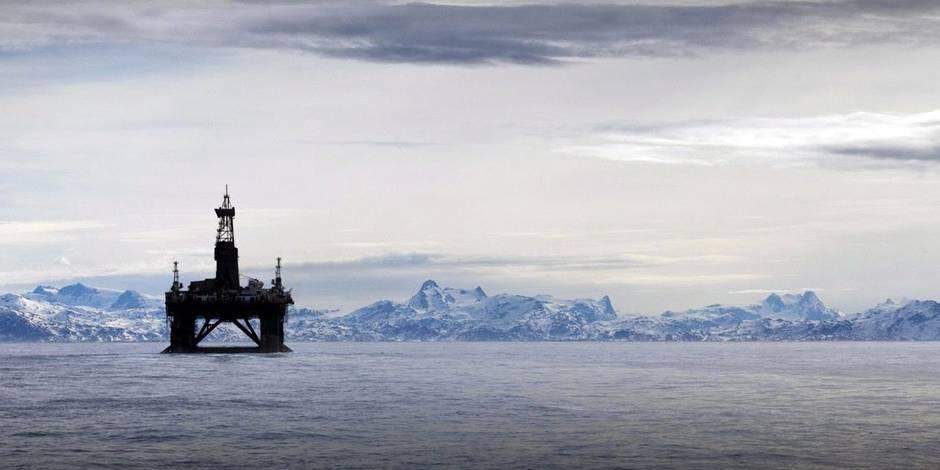L'or noir du Groenland part en fumée - La Libre