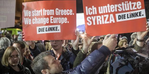 """""""L'espoir arrive"""", """"bonne nouvelle pour le peuple grec""""...: les réactions à la victoire de la gauche en Grèce - La Libre"""