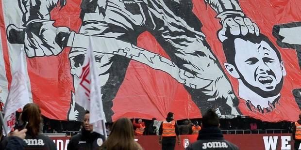 """Tifo anti-Defour au Standard: """"Une limite a été franchie"""" - La Libre"""