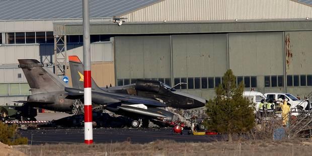 Crash d'un F-16 en Espagne: l'enquête avance, des victimes françaises allaient décoller - La Libre