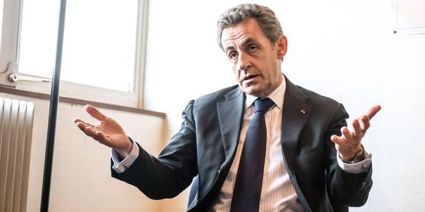 """France: Sarkozy évoque """"un risque d'explosion"""" de son parti face à l'extrême droite - La Libre"""