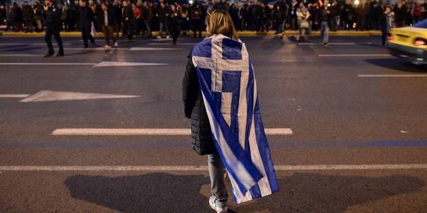 Les Grecs soutiennent largement le gouvernement Tsipras - La Libre