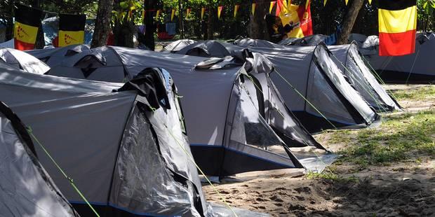 Camping Devillage: 50 euros contre le silence des supporters - La Libre