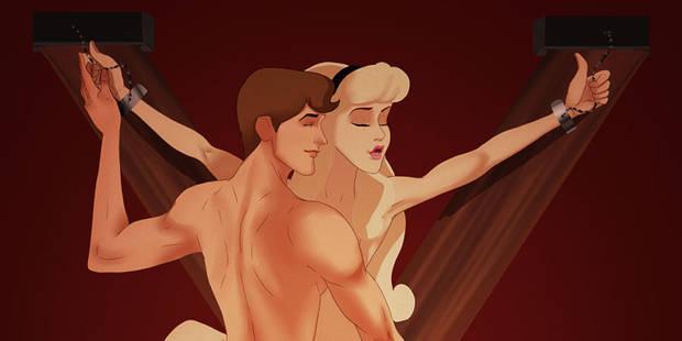 """""""50 Nuances de Grey""""... version Disney - La Libre"""