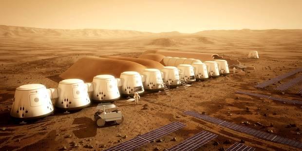 Ce Belge veut partir pour Mars, et ne jamais revenir - La Libre