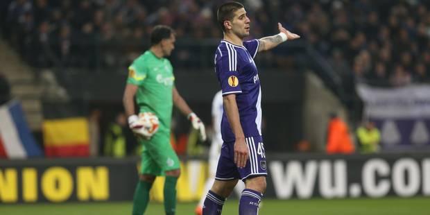 Anderlecht gâche ses occasions face à un Dynamo Moscou réduit à dix - La Libre