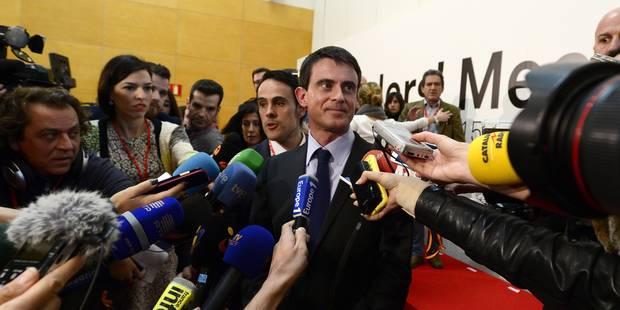 """Valls: """"L'austérité pour l'austérité conduit à la montée des populismes"""" - La Libre"""