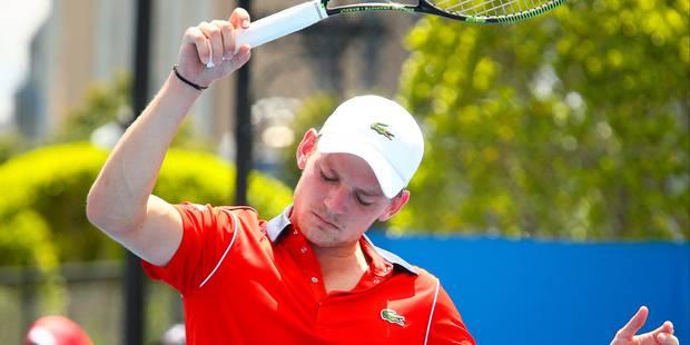 Goffin conserve sa 21e place au classement ATP - La Libre
