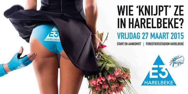 """Course cycliste à Harelbeke: le Jury d'éthique publicitaire juge l'affiche """"dénigrante pour la femme"""" - La Libre"""