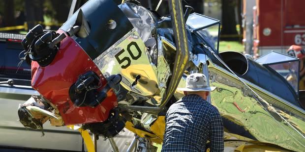 Accident d'avion d'Harrison Ford: les conclusions de l'enquête pas publiées avant un an - La Libre