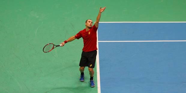 Coupe Davis: Darcis battu, la Belgique compte sur Goffin - La Libre