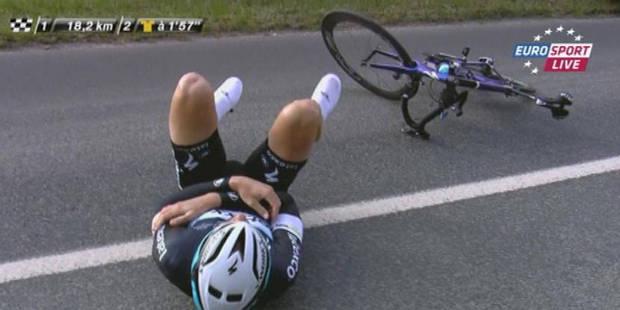 La poisse poursuit Tom Boonen: le coureur est aussi touché au coude et sera opéré mercredi - La Libre