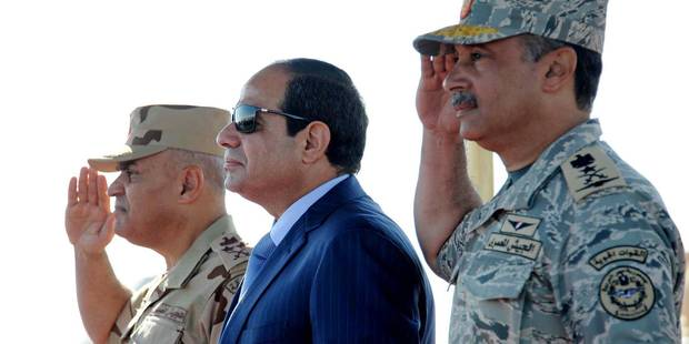 Confrontée à la montée des jihadistes, l'Egypte cherche à attirer les capitaux étrangers - La Libre
