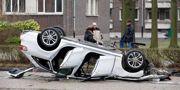 Terrible accident à Anvers: deux morts et plusieurs blessés - La Libre