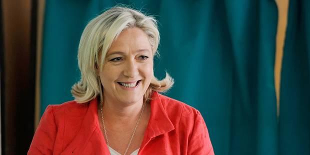 Départementales françaises : le FN en tête avec 30% des intentions de vote - La Libre