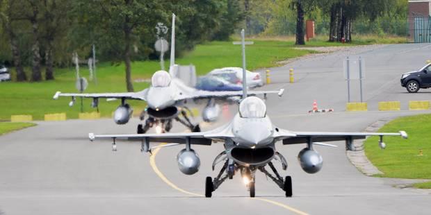 L'Otan vante les mérites des F-16 de l'armée belge et torpille ses frégates - La Libre