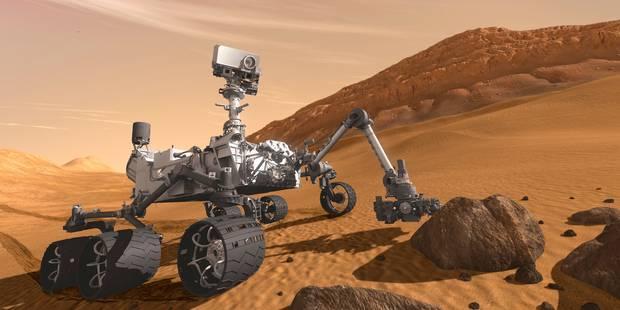 De l'azote détecté à la surface de Mars, autre indication d'une vie passée - La Libre
