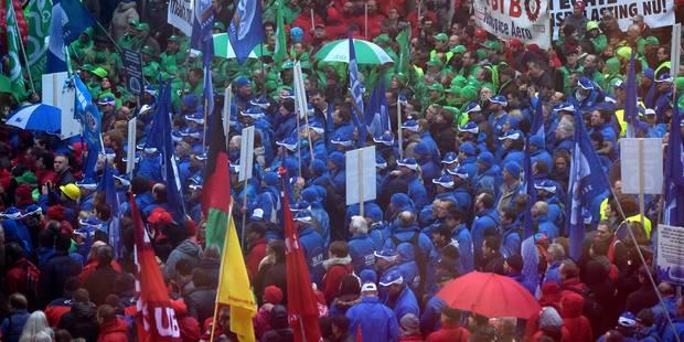 Bruxelles: manifestations des syndicats lundi, des perturbations attendues sur le réseau STIB - La Libre
