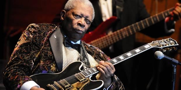 La légende du blues B.B. King a été hospitalisée - La Libre