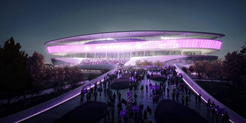 Parkings, vestiaires, fan shop: tout savoir sur le nouveau stade national - La Libre