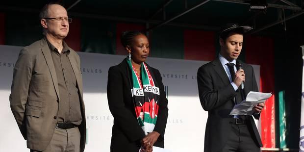 Plus de 1.500 personnes rassemblées à l'ULB pour les victimes de l'université de Garissa - La Libre