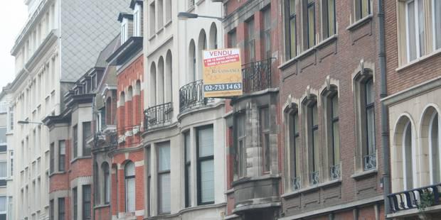Maisons à Bruxelles: 33.000 euros moins chères (Infographie) - La Libre