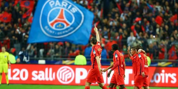 Le PSG s'offre la Coupe de la Ligue (Vidéo) - La Libre