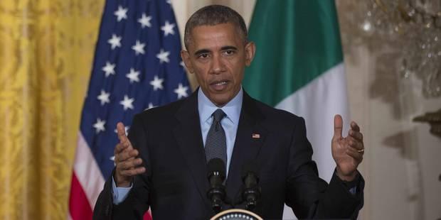 """Obama ne voit pas de """"plus grande menace"""" que le changement climatique - La Libre"""