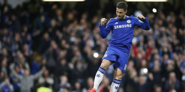 Et si Chelsea avait (déjà) remporté le championnat... grâce à Eden Hazard ? (VIDÉO) - La Libre