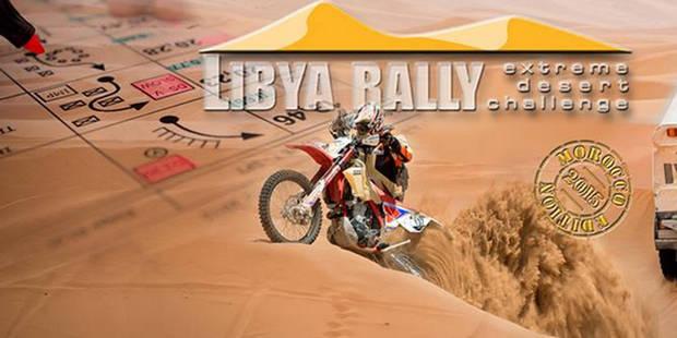 Décès d'un motard belge au Rallye de Libye - La Libre