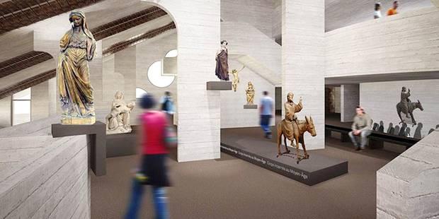 Bienvenue au Musée L, futur plus grand musée universitaire de Belgique - La Libre