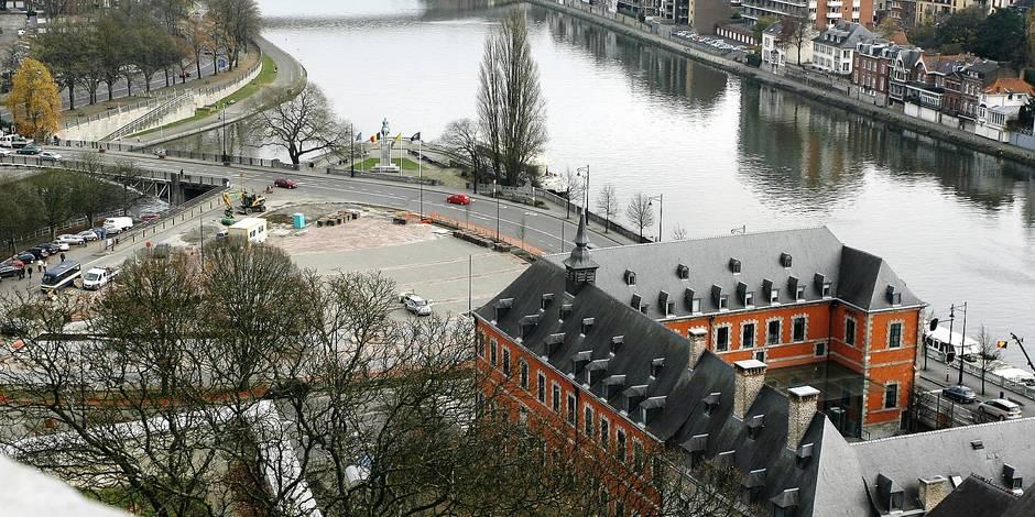 Namur: candidatures ouvertes pour le parking du Grognon - La Libre